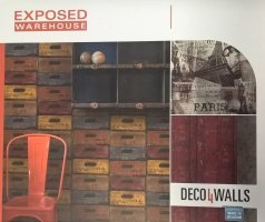 deco4walls EXPOSED WAREHOUSE