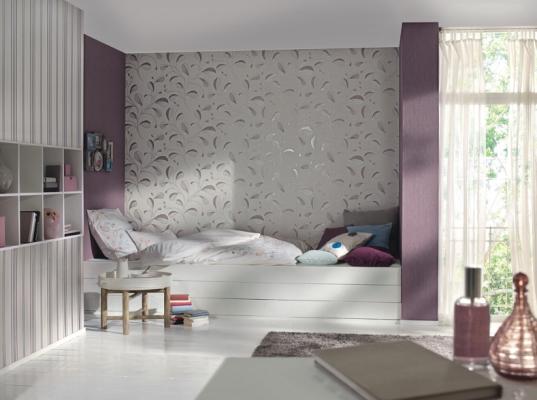 Po czenie tapety z farb zdj cia materia y budowlane for Strukturtapete wohnzimmer